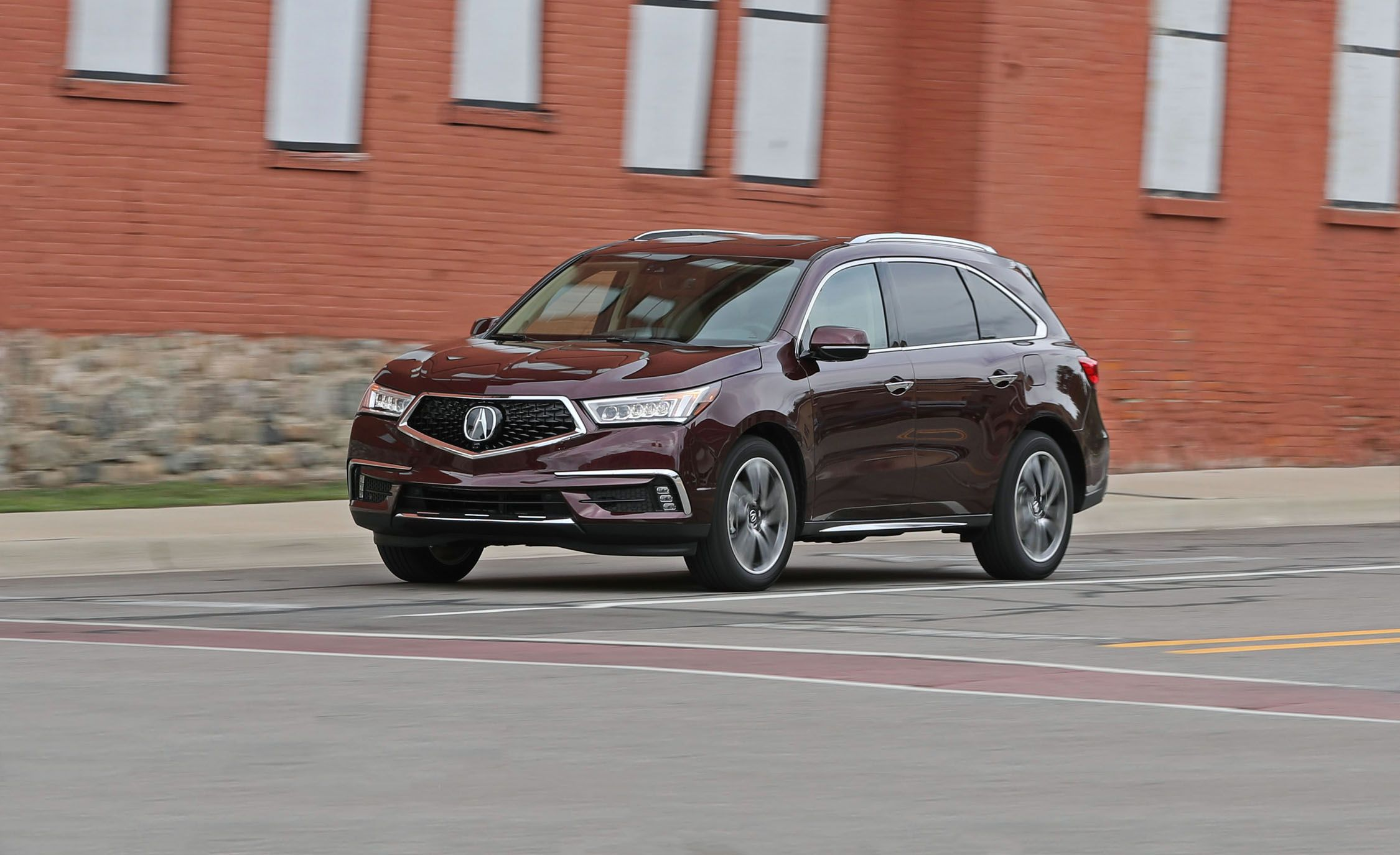 Click here for each car s actual lap time at caranddriver com look - 2017 Acura Mdx