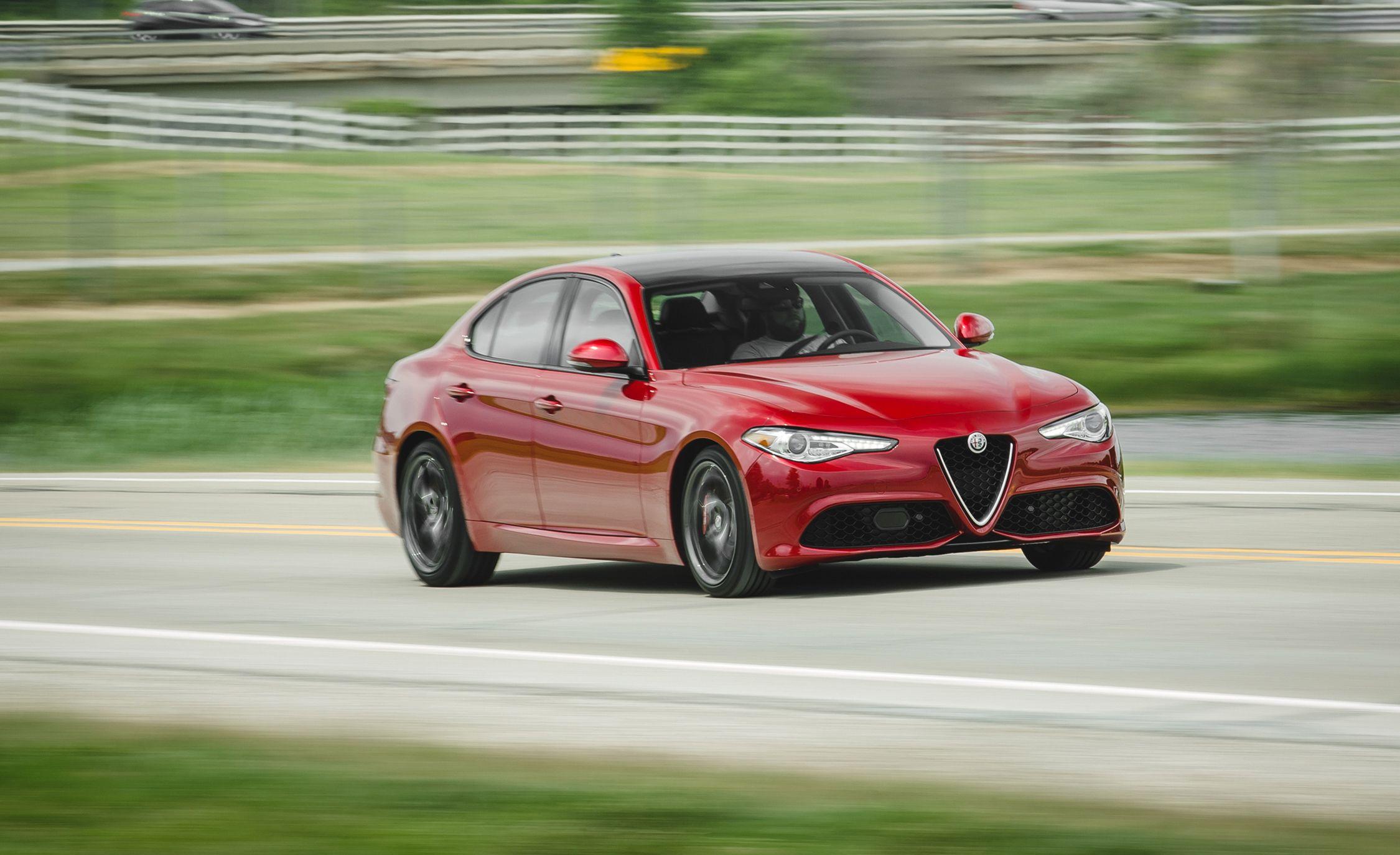 2017 Alfa Romeo Giulia Interior Review Car And Driver