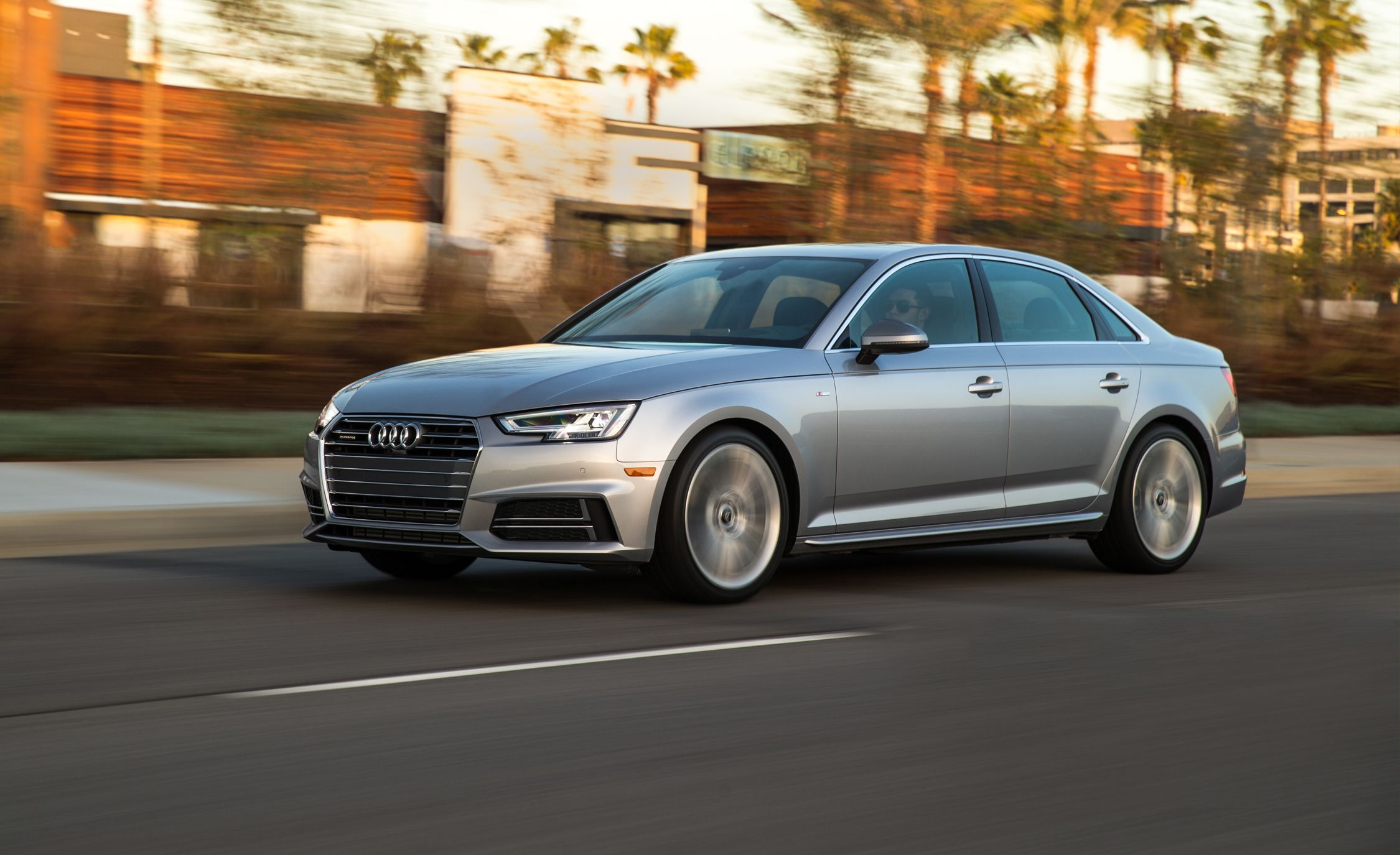 Audi A InDepth Model Review Car And Driver - Audi a4 2018