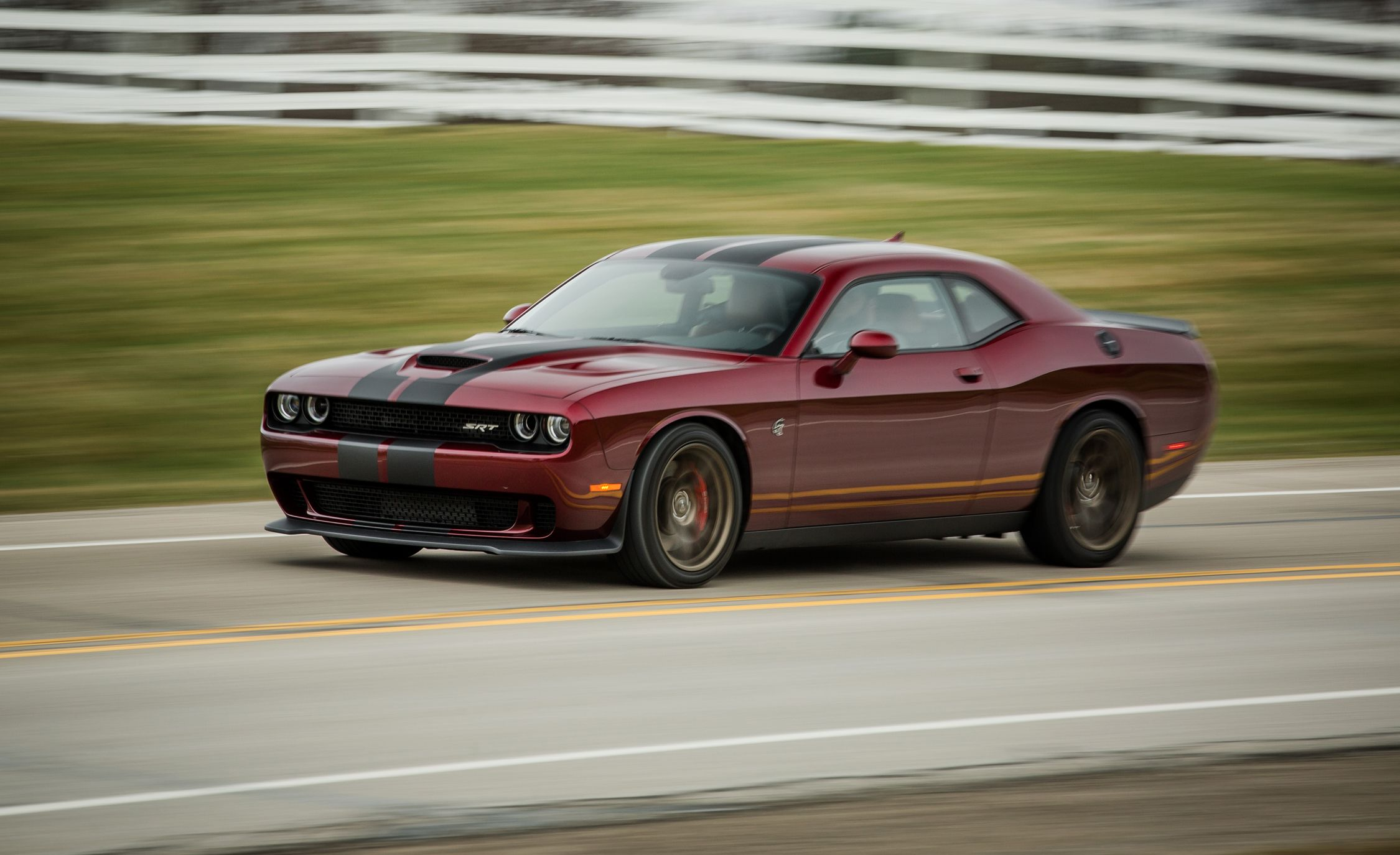 2015 Dodge Challenger Srt Hellcat First Drive Review Car And Driver