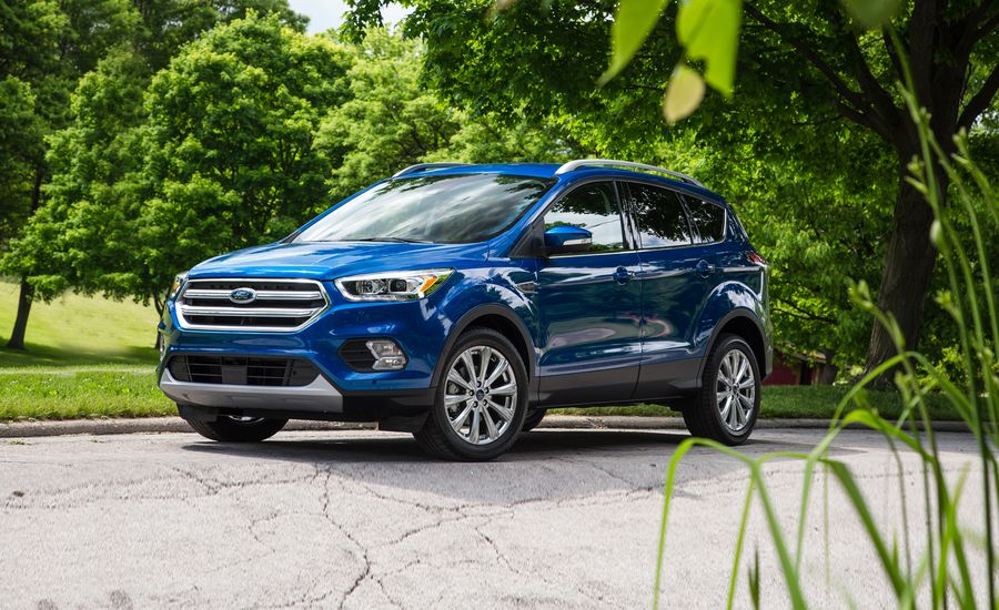 2017 ford escape in depth model review car and driver. Black Bedroom Furniture Sets. Home Design Ideas