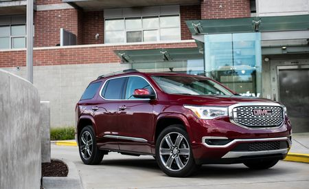 gmc acadia reviews gmc acadia price photos and specs. Black Bedroom Furniture Sets. Home Design Ideas