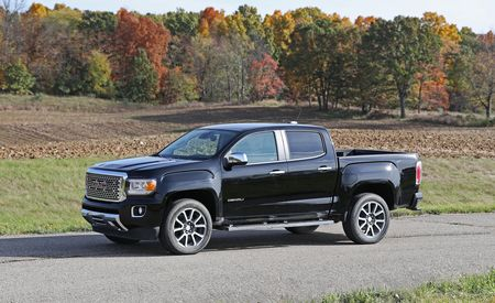 gmc canyon reviews gmc canyon price photos and specs car and driver. Black Bedroom Furniture Sets. Home Design Ideas