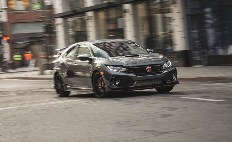 2017 honda civic type r in depth model review car and driver. Black Bedroom Furniture Sets. Home Design Ideas
