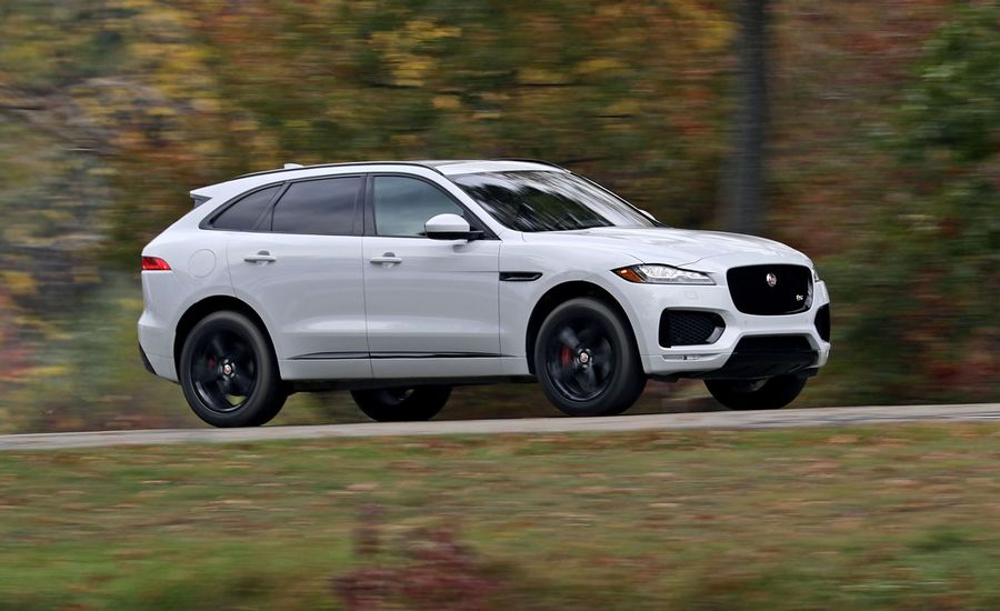 2017 jaguar f pace in depth model review car and driver. Black Bedroom Furniture Sets. Home Design Ideas