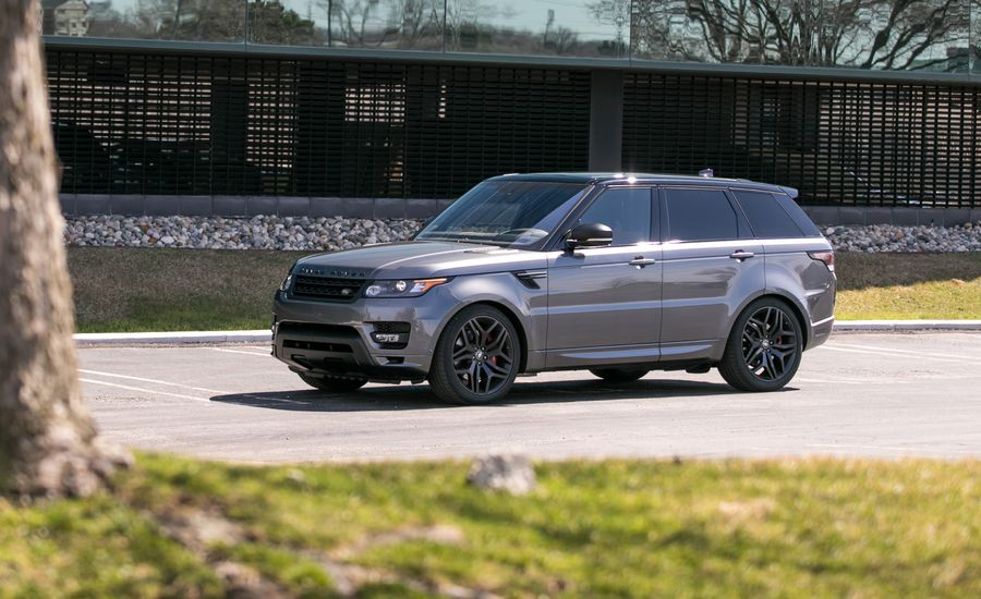 2017 Land Rover Range Rover Sport Supercharged Svr In