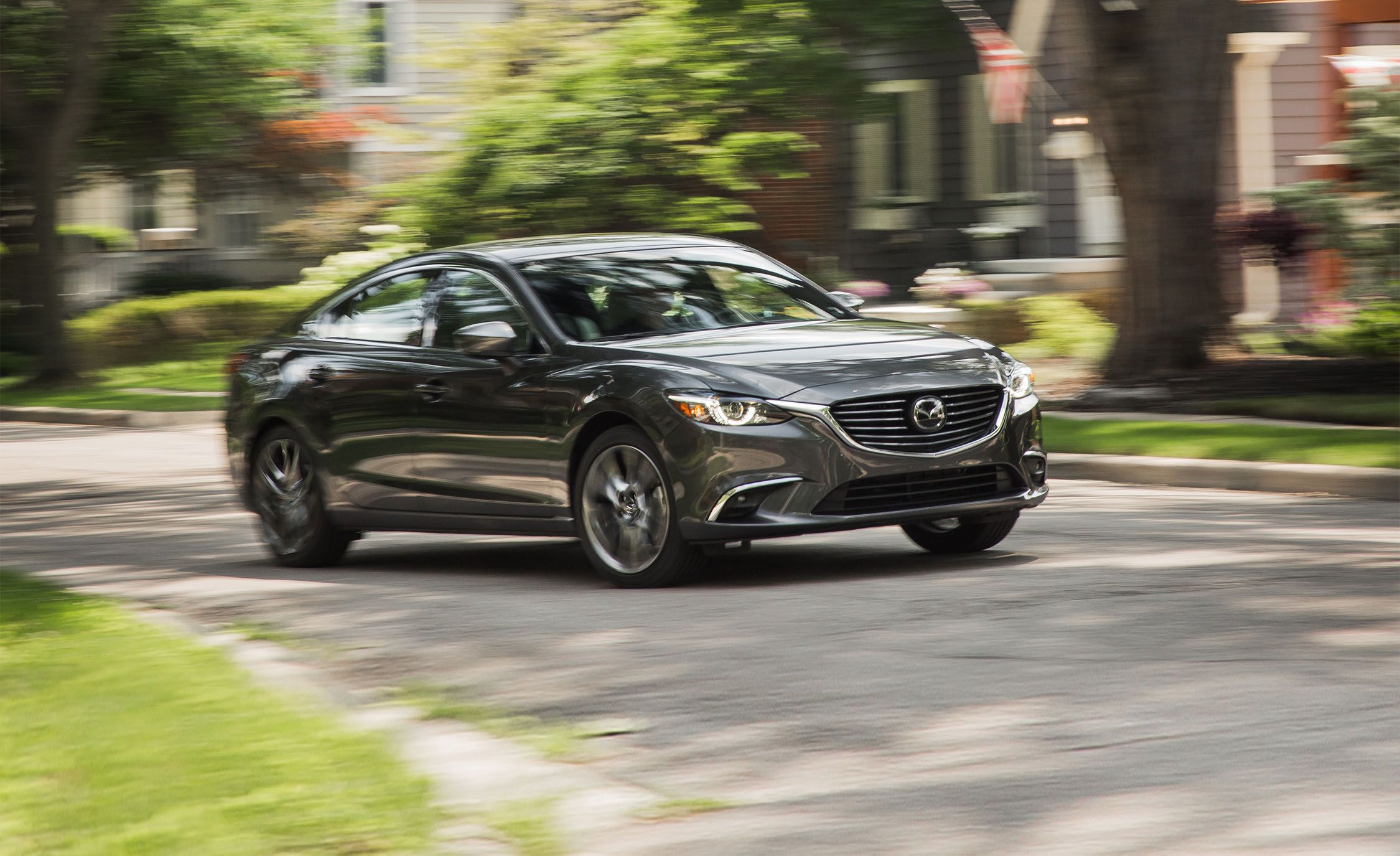 2017 mazda 6 in depth model review car and driver. Black Bedroom Furniture Sets. Home Design Ideas