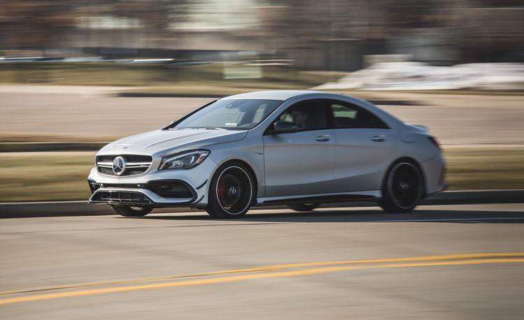 2017 Mercedes-AMG CLA45