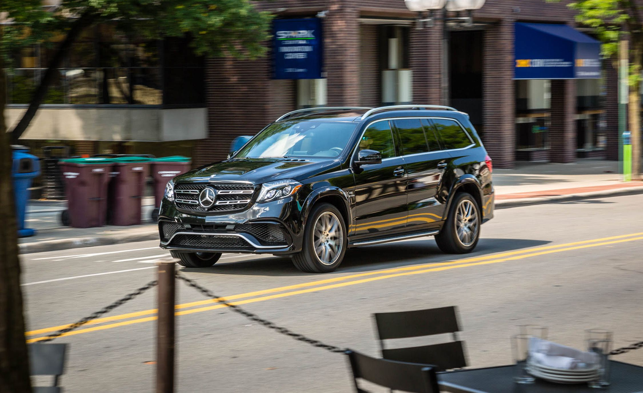 2017 Mercedes AMG GLS63 4MATIC Test Review