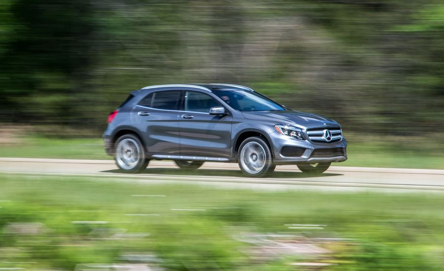 2017 mercedes benz gla class in depth model review car and driver. Black Bedroom Furniture Sets. Home Design Ideas