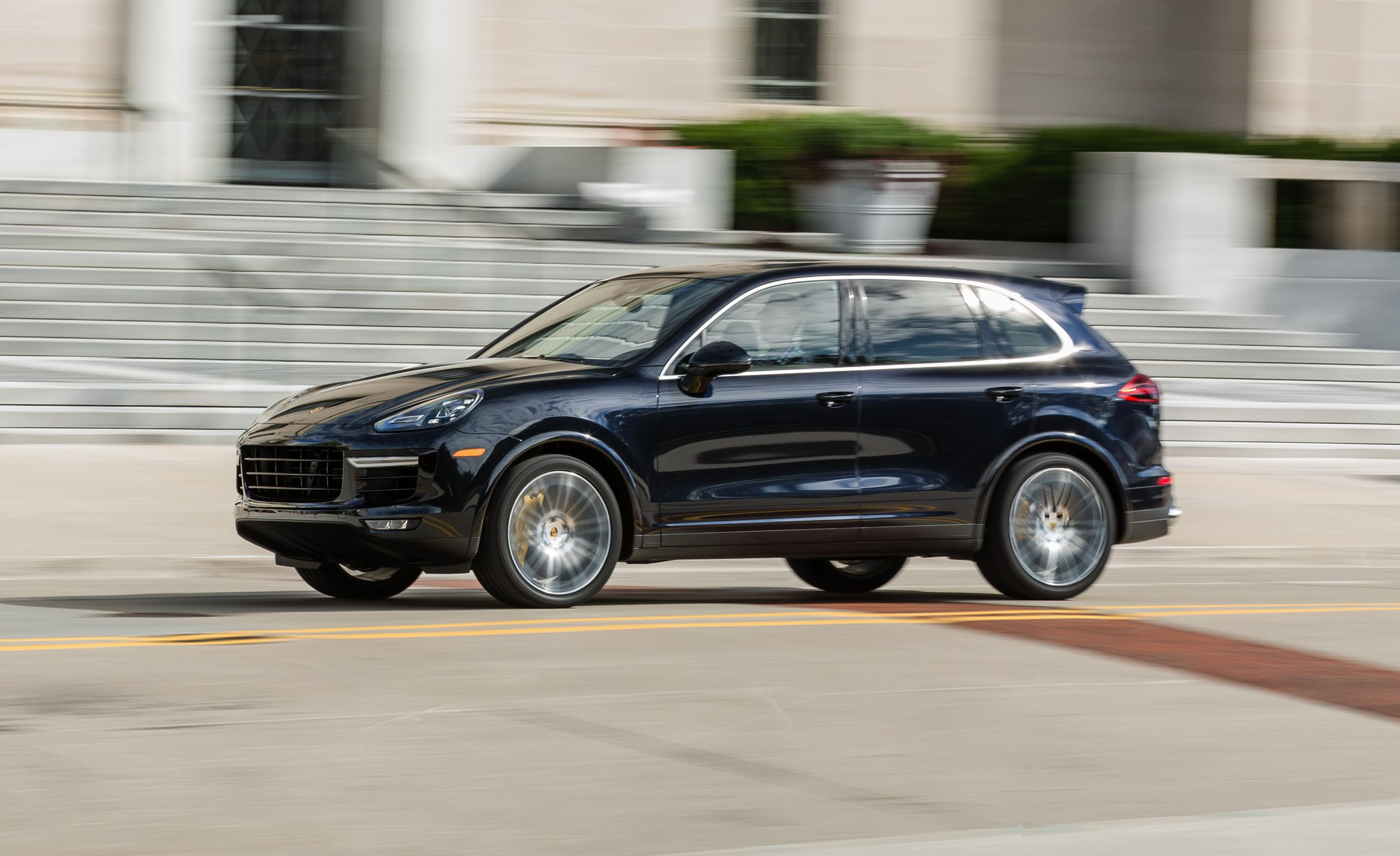 2017 Porsche Cayenne Turbo S In Depth Model Review Car And Driver