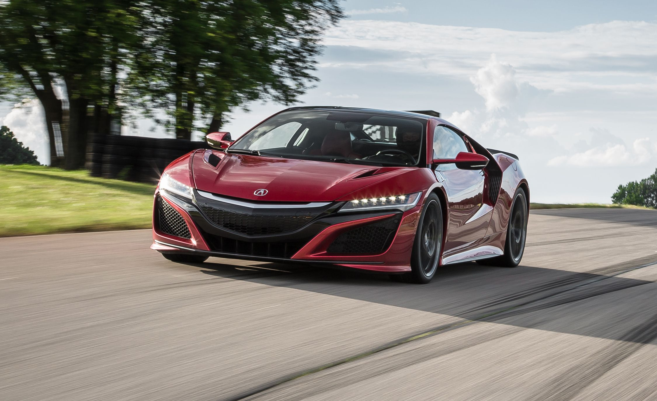 Acura NSX Supercar Full Test Review Car And Driver - Acura nsx motor