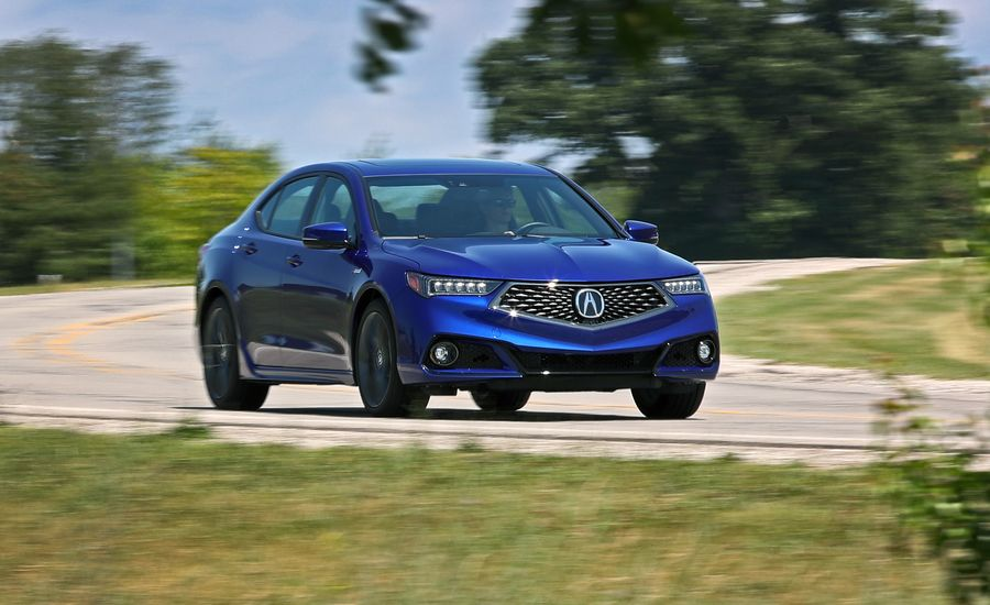 Acura TLX InDepth Model Review Car And Driver - Acura 2018 tlx price