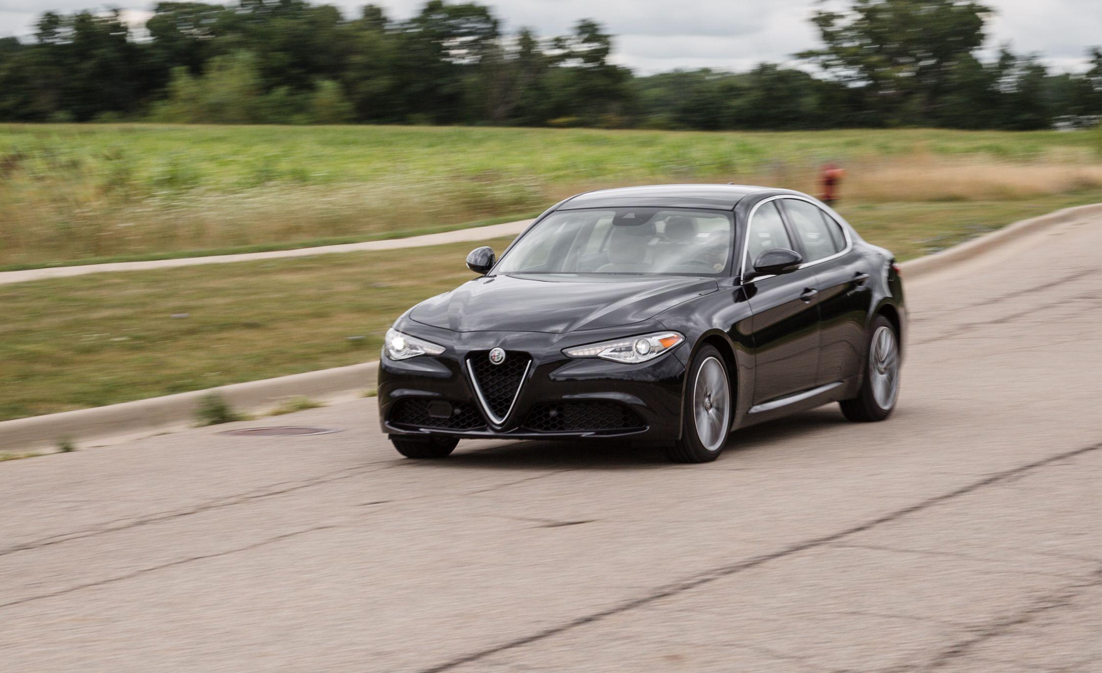 Alfa romeo giulia ti review car and driver 14