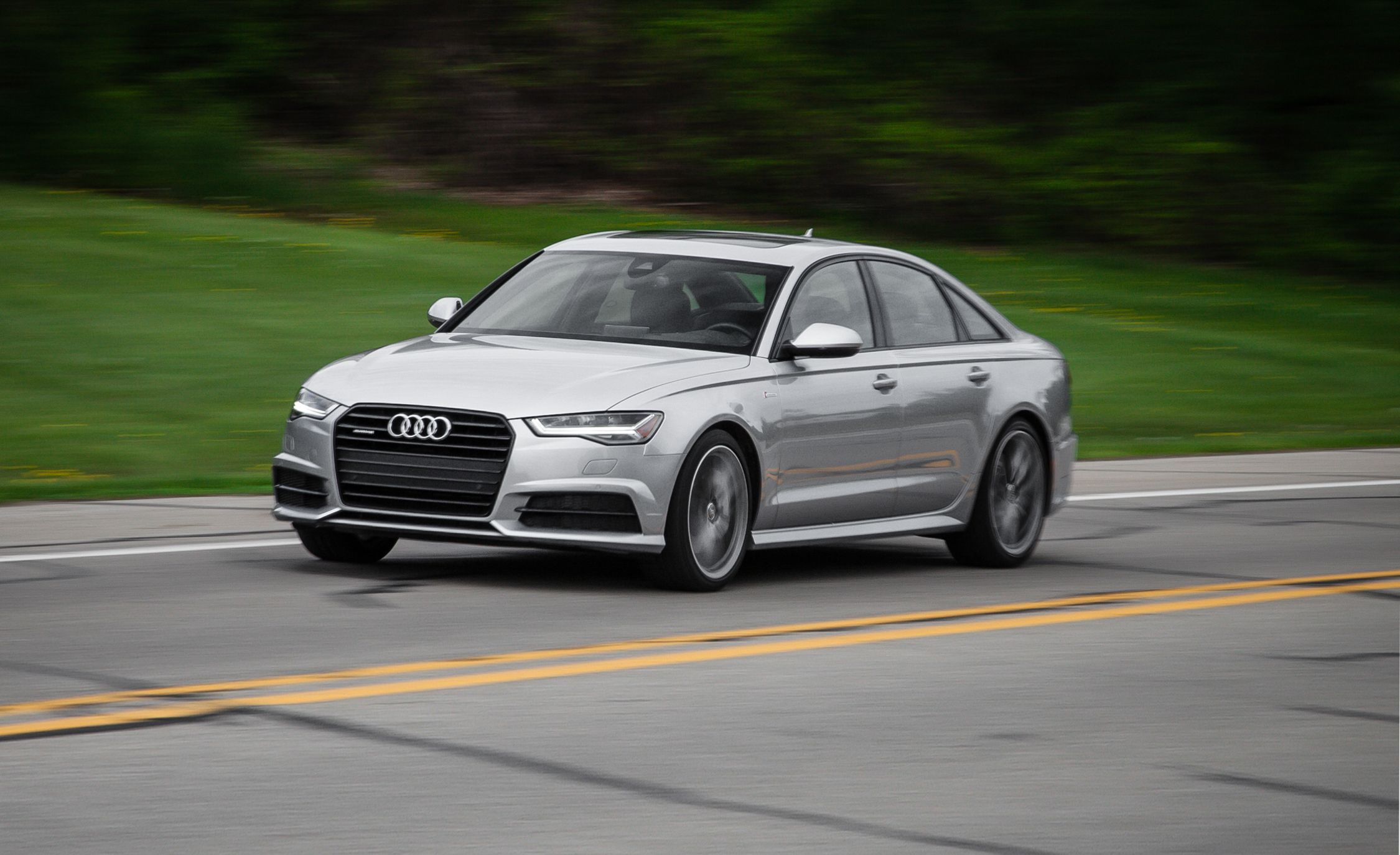 audi a6 reviews audi a6 price photos and specs car and driver Audi History Timeline