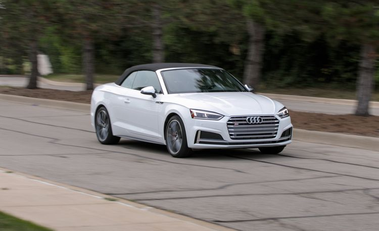 2018 Audi S5 Coupe and Cabriolet