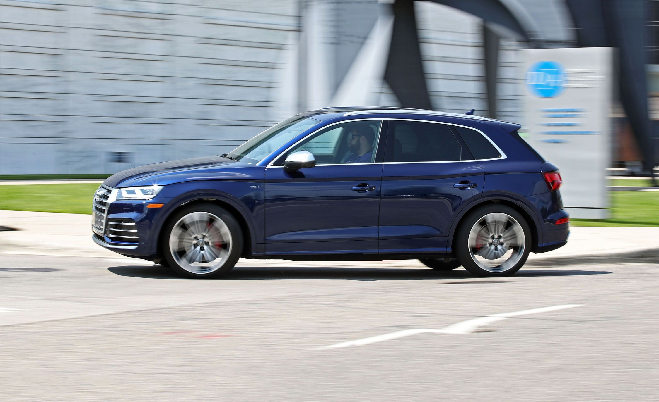 Audi SQ First Drive Review Car And Driver - Audi sq5 review