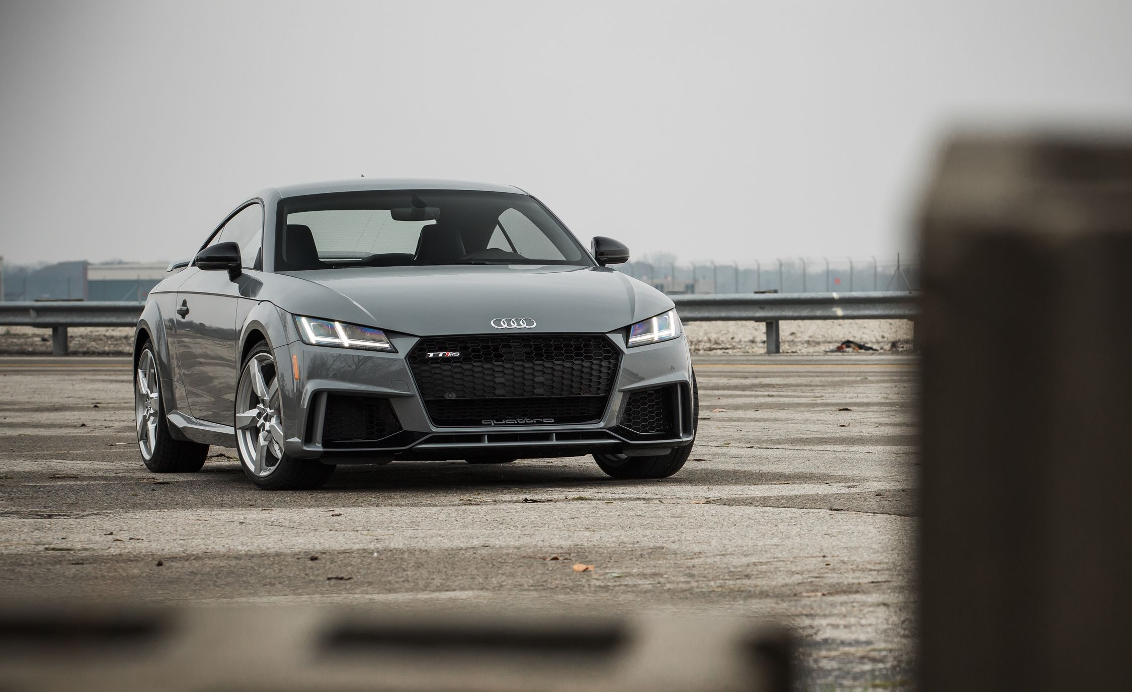 2018 audi tt rs coupe first drive review car and driver rh caranddriver com 2013 Audi TT RS Review 2013 Audi TT RS Review