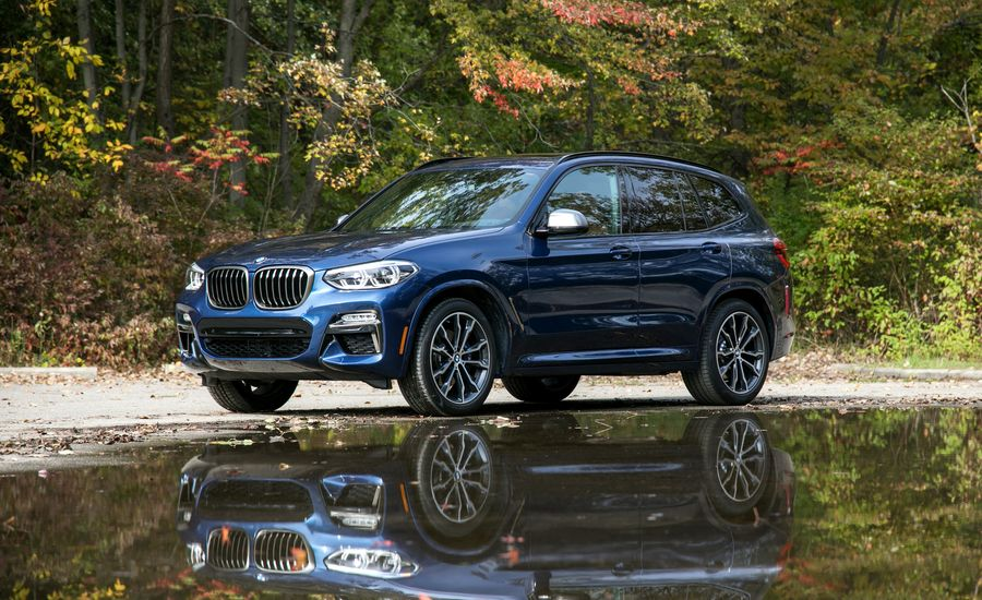 2018 bmw x3 in depth model review car and driver. Black Bedroom Furniture Sets. Home Design Ideas