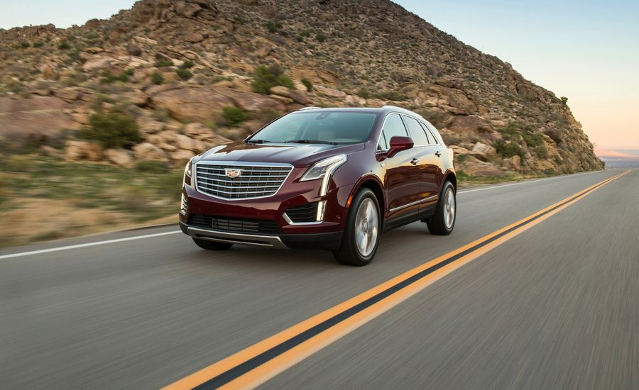 auto cadillac review dropping delivers reviews suv at handling sporty new a price jaw roadshow