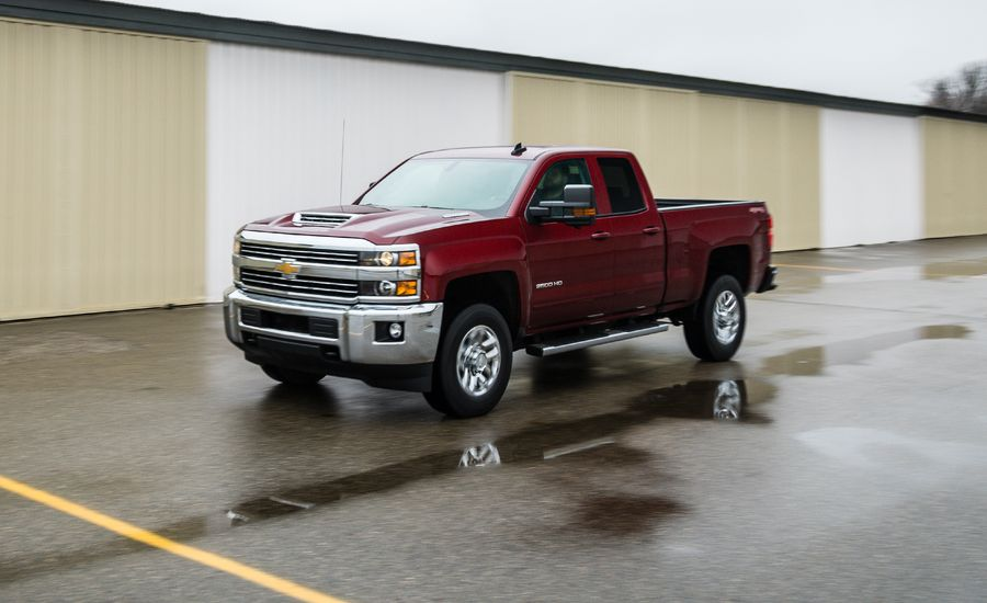 2018 Chevrolet Silverado 2500hd 3500hd In Depth Model