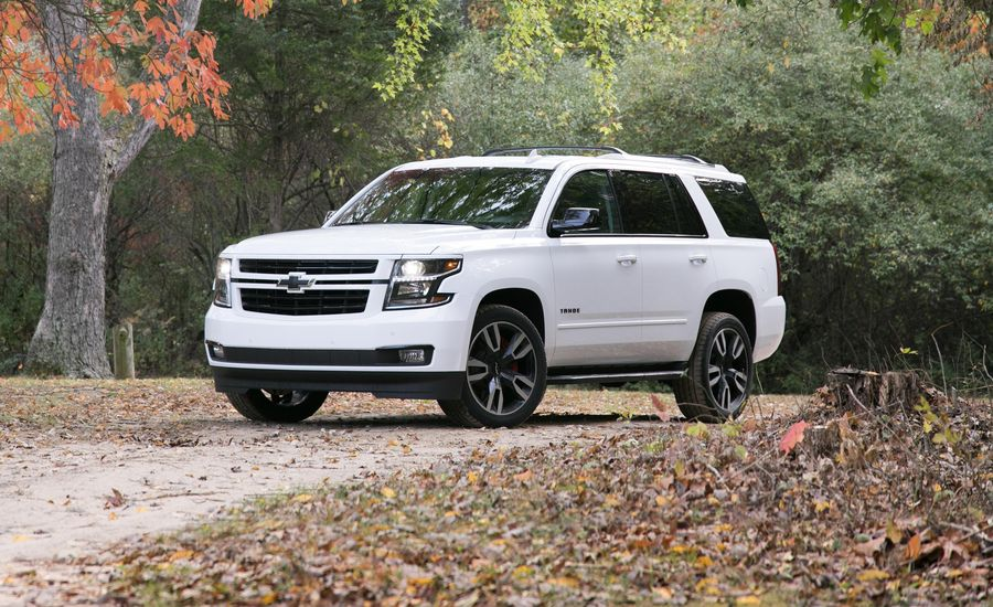 2018 chevrolet tahoe in depth model review car and driver. Black Bedroom Furniture Sets. Home Design Ideas