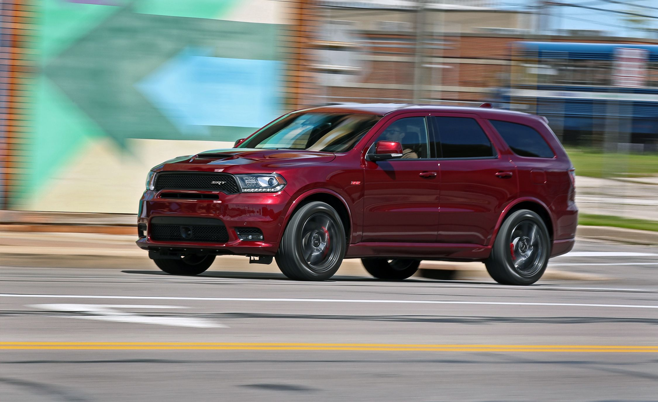 2018 dodge durango srt test review car and driver