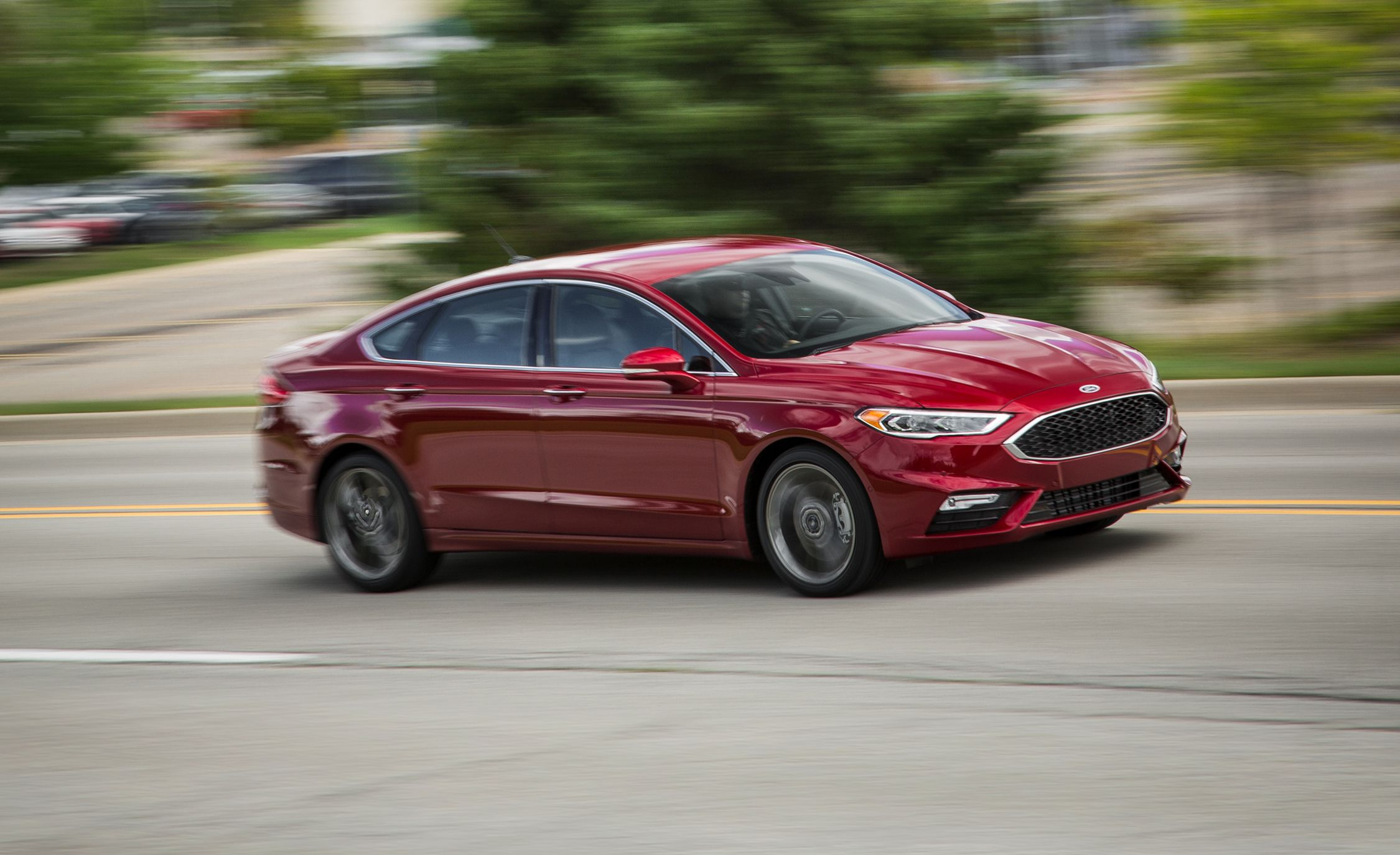 2018 Ford Fusion & 2018 Ford Fusion   In-Depth Model Review   Car and Driver markmcfarlin.com