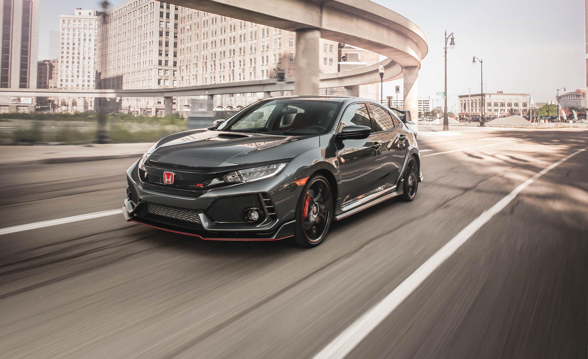 2018 Honda Civic Type R In Depth Model Review Car And Driver