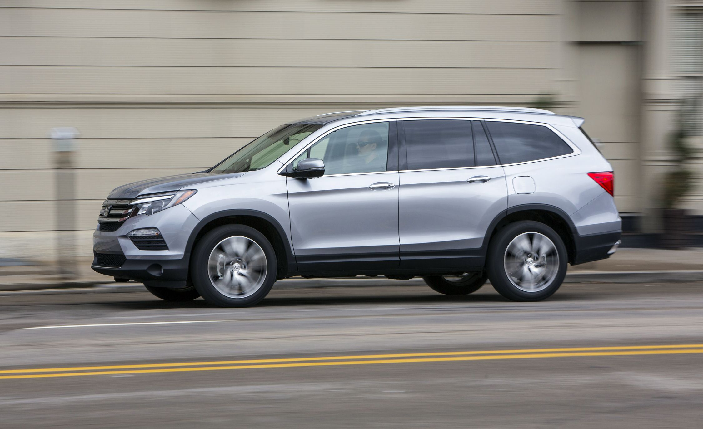 2018 honda pilot in depth model review car and driver for Honda pilot images