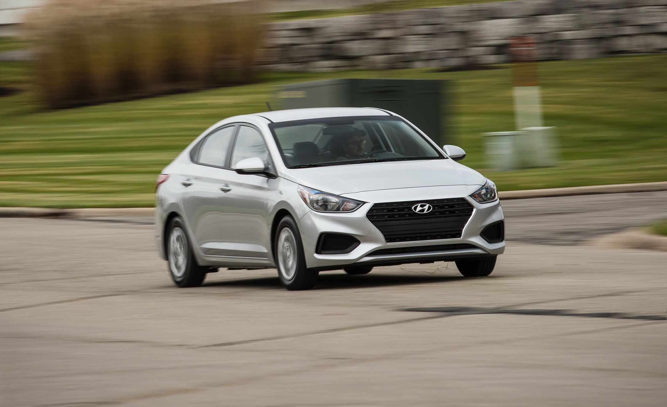 2018 Hyundai Accent In Depth Model Review Car And Driver