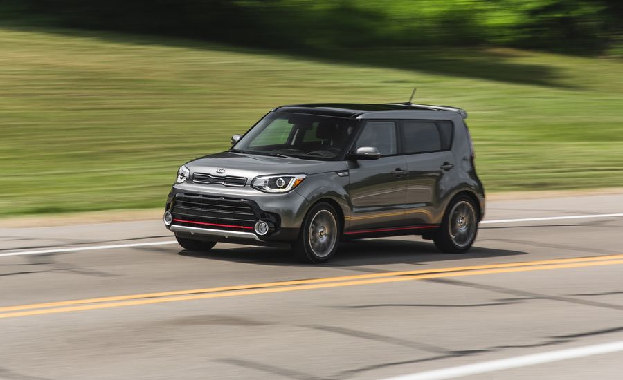 2018 kia soul in depth model review car and driver. Black Bedroom Furniture Sets. Home Design Ideas