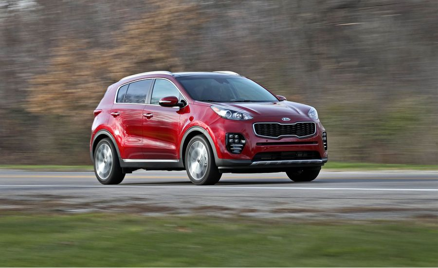 2018 kia sportage in depth model review car and driver. Black Bedroom Furniture Sets. Home Design Ideas