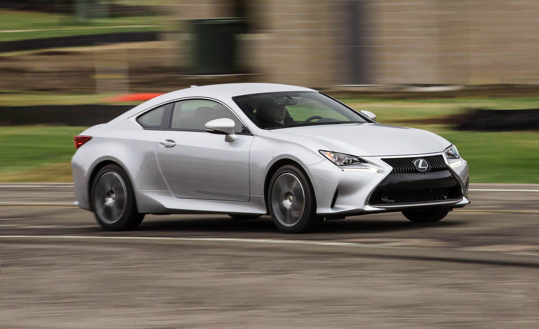 Lexus rc coupe reviews