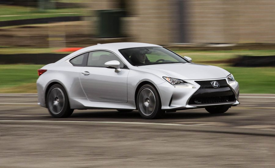 2018 lexus rc in depth model review car and driver. Black Bedroom Furniture Sets. Home Design Ideas