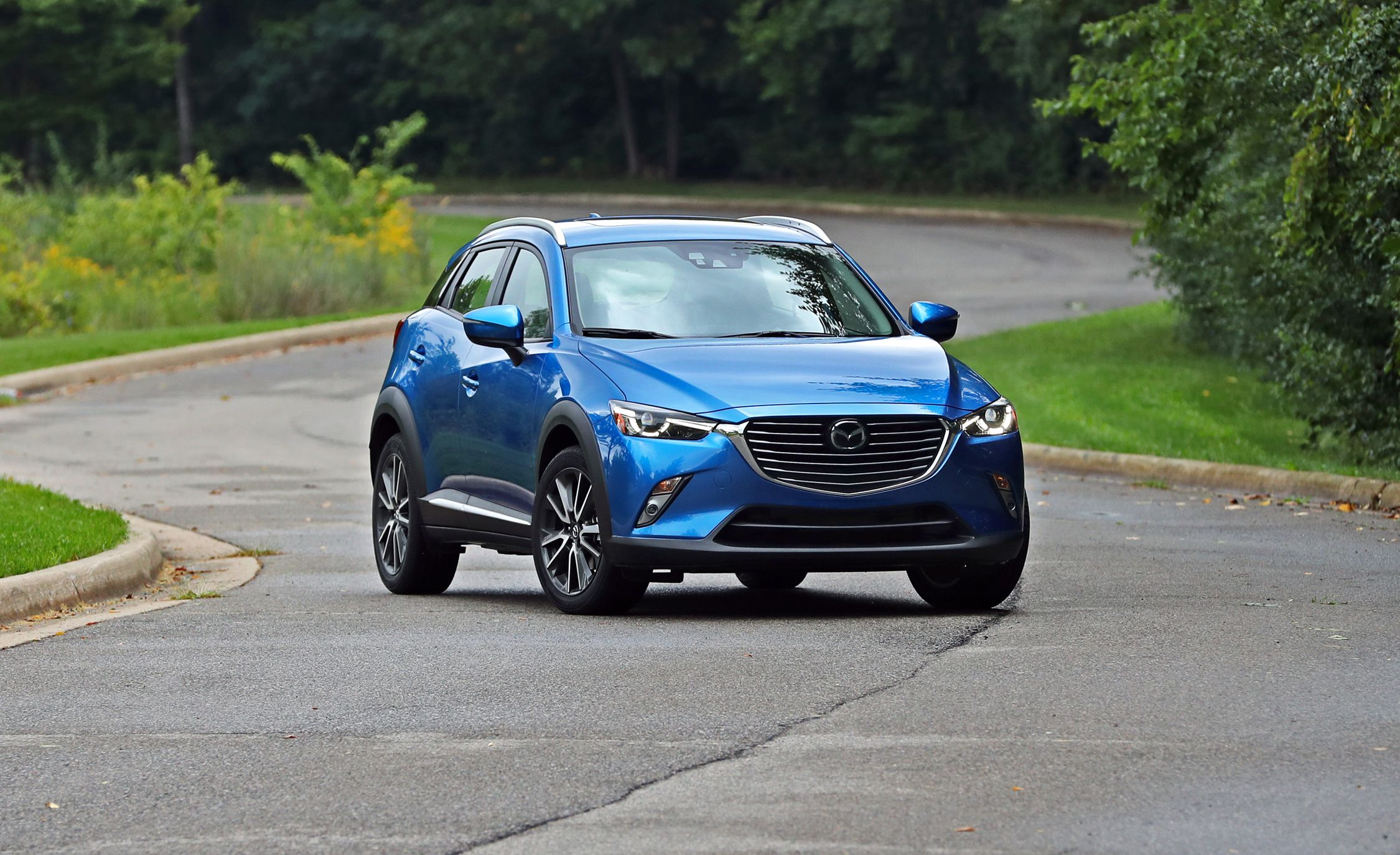 2018 Mazda Cx 3 In Depth Model Review Car And Driver