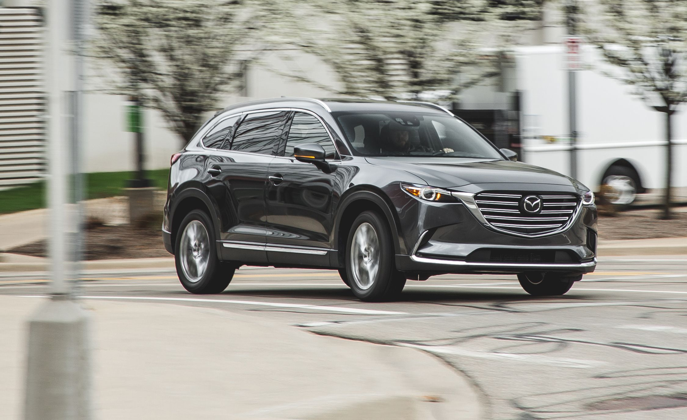 Mdx Cargo Space >> 2018 Mazda CX-9 | In-Depth Model Review | Car and Driver