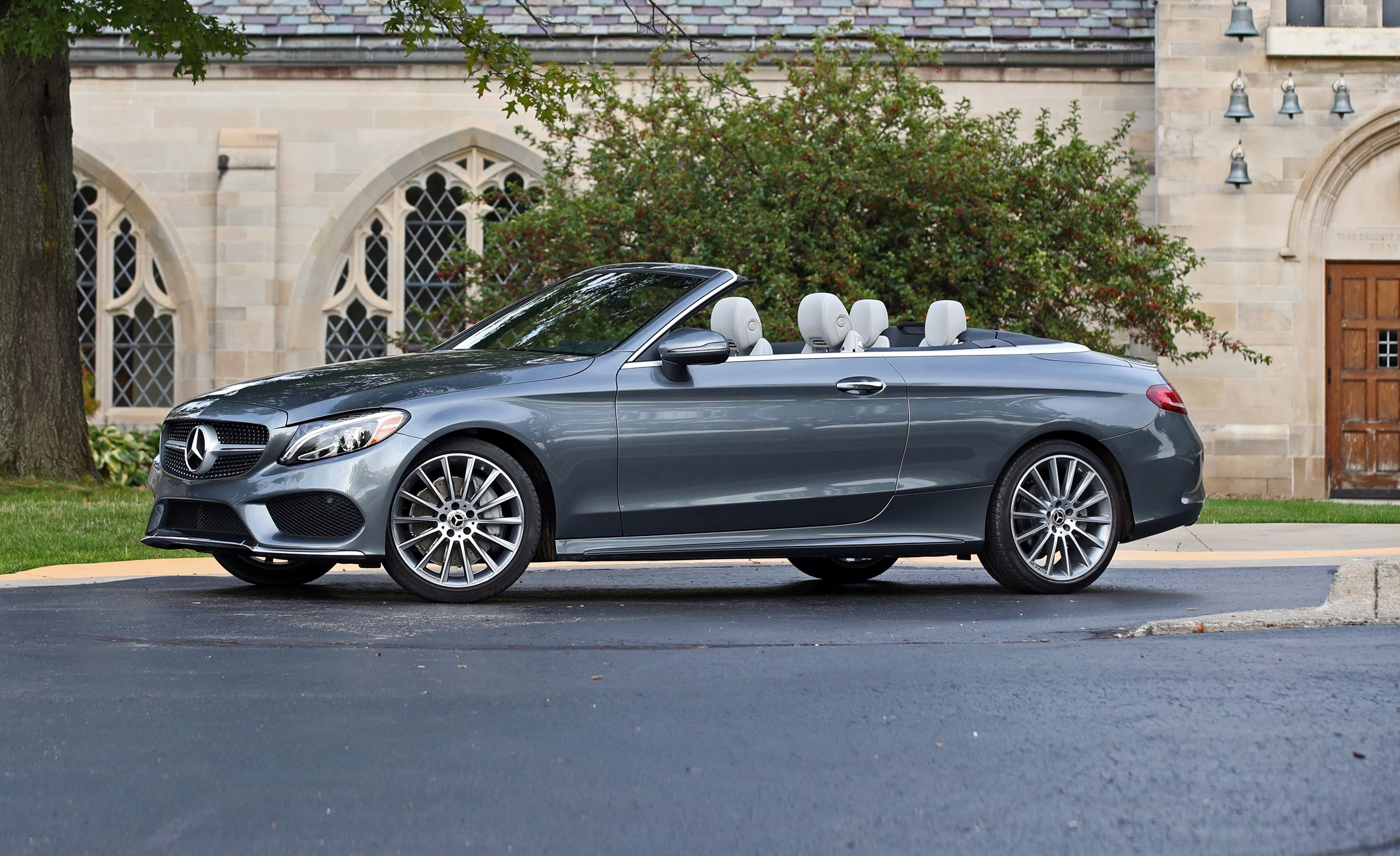 2015 Mercedes Benz C300 4matic Test Review Car And Driver