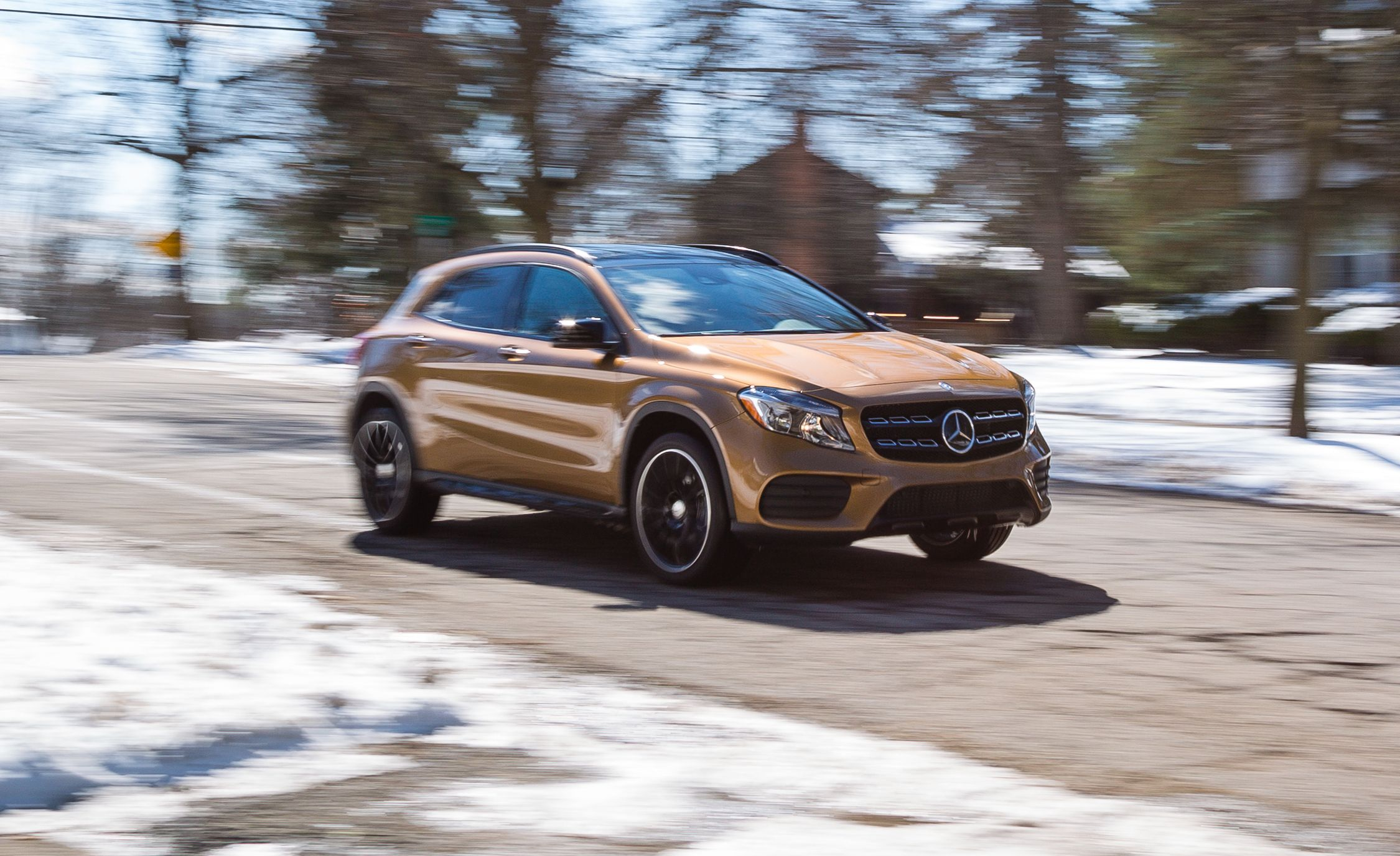 2018 Mercedes Benz Gla Class In Depth Model Review Car And Driver