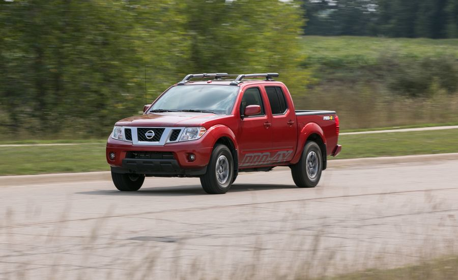 Nissan Frontier InDepth Model Review Car And Driver - Car show website reviews