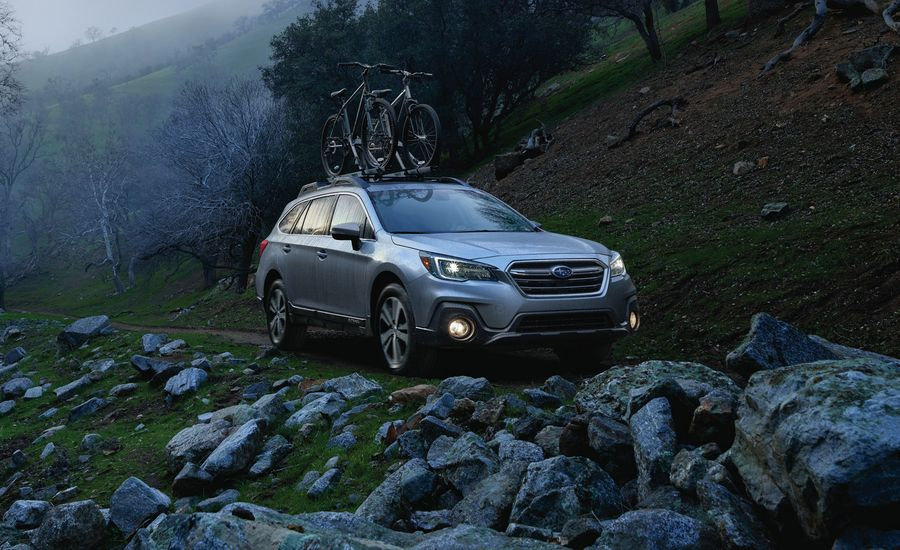 2018 Subaru Outback In Depth Model Review Car And Driver