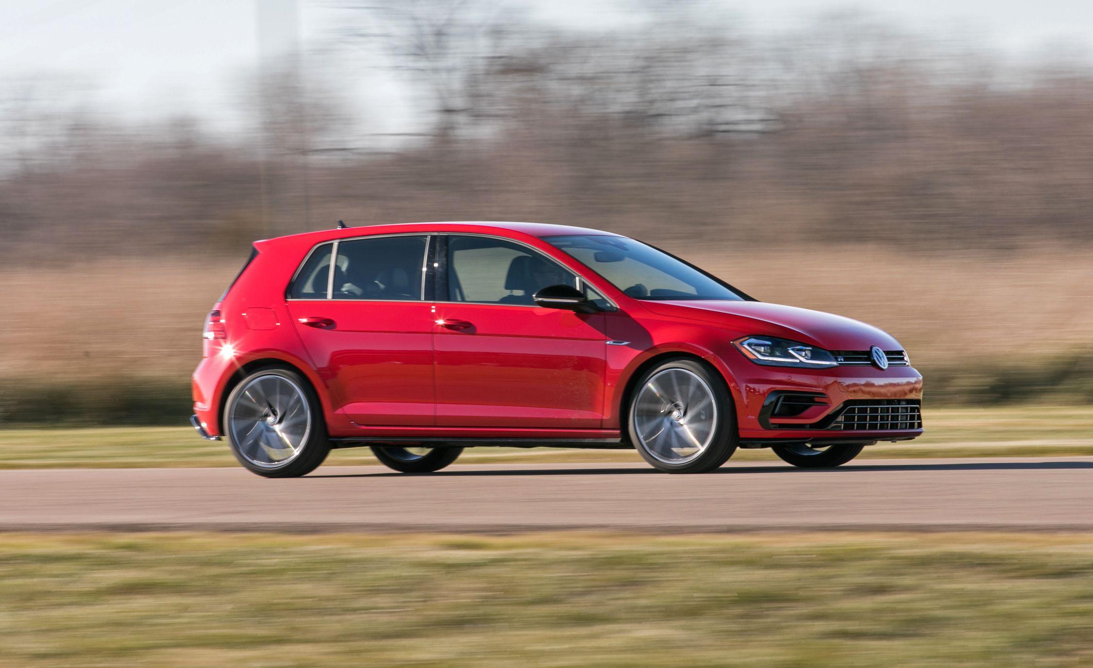 2018 volkswagen golf r in depth model review car and driver rh caranddriver com