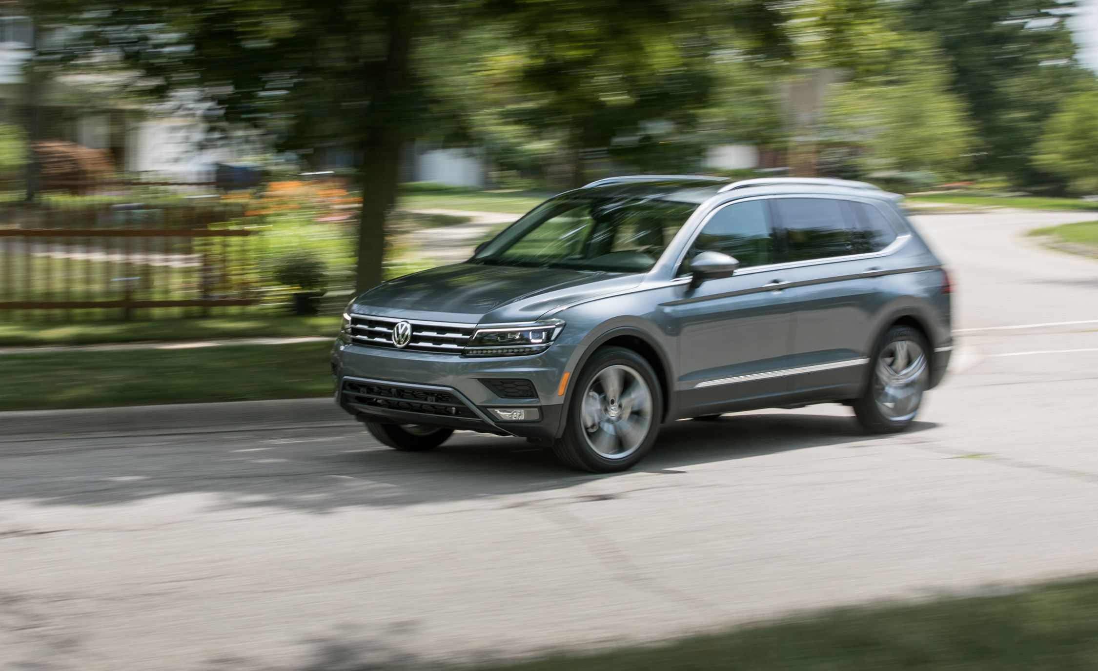 2018 Volkswagen Tiguan First Drive Review Car And Driver 2012 Vw Touareg Engine Diagram