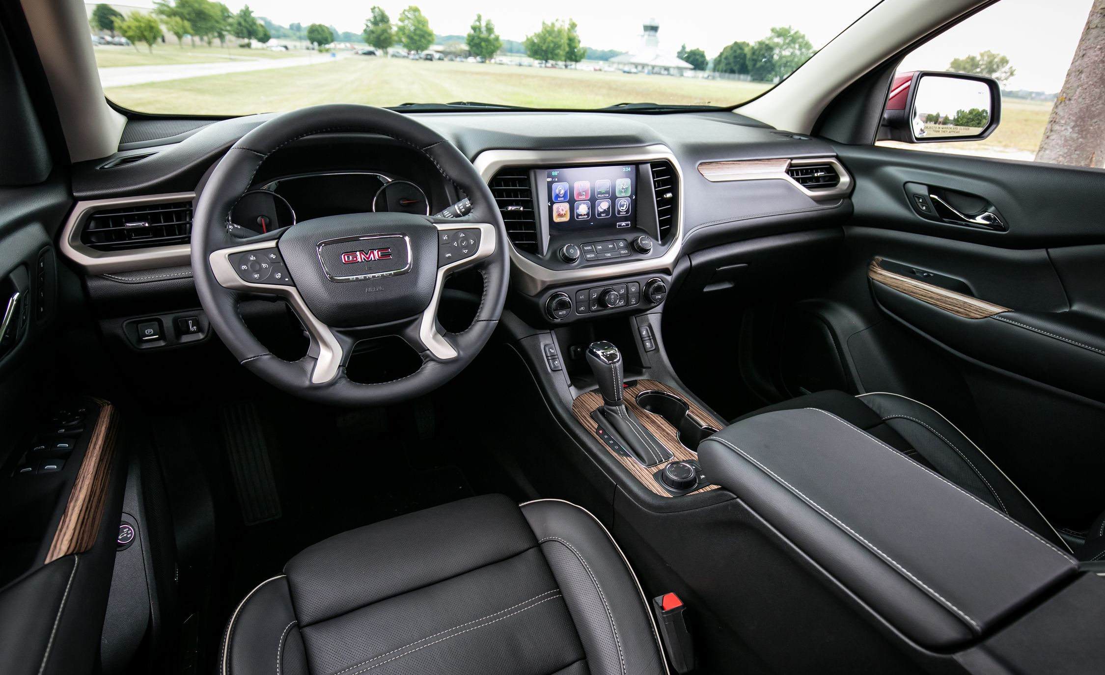 2017 GMC Acadia | Interior Review | Car and Driver