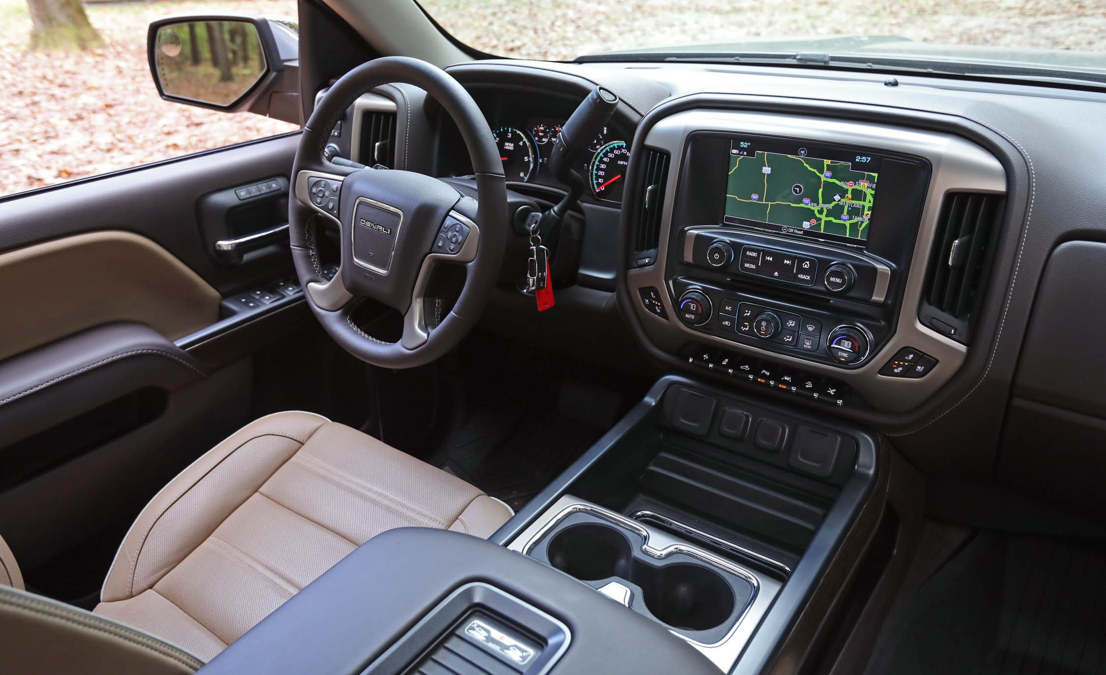 2017 Gmc Sierra Interior Review Car And Driver