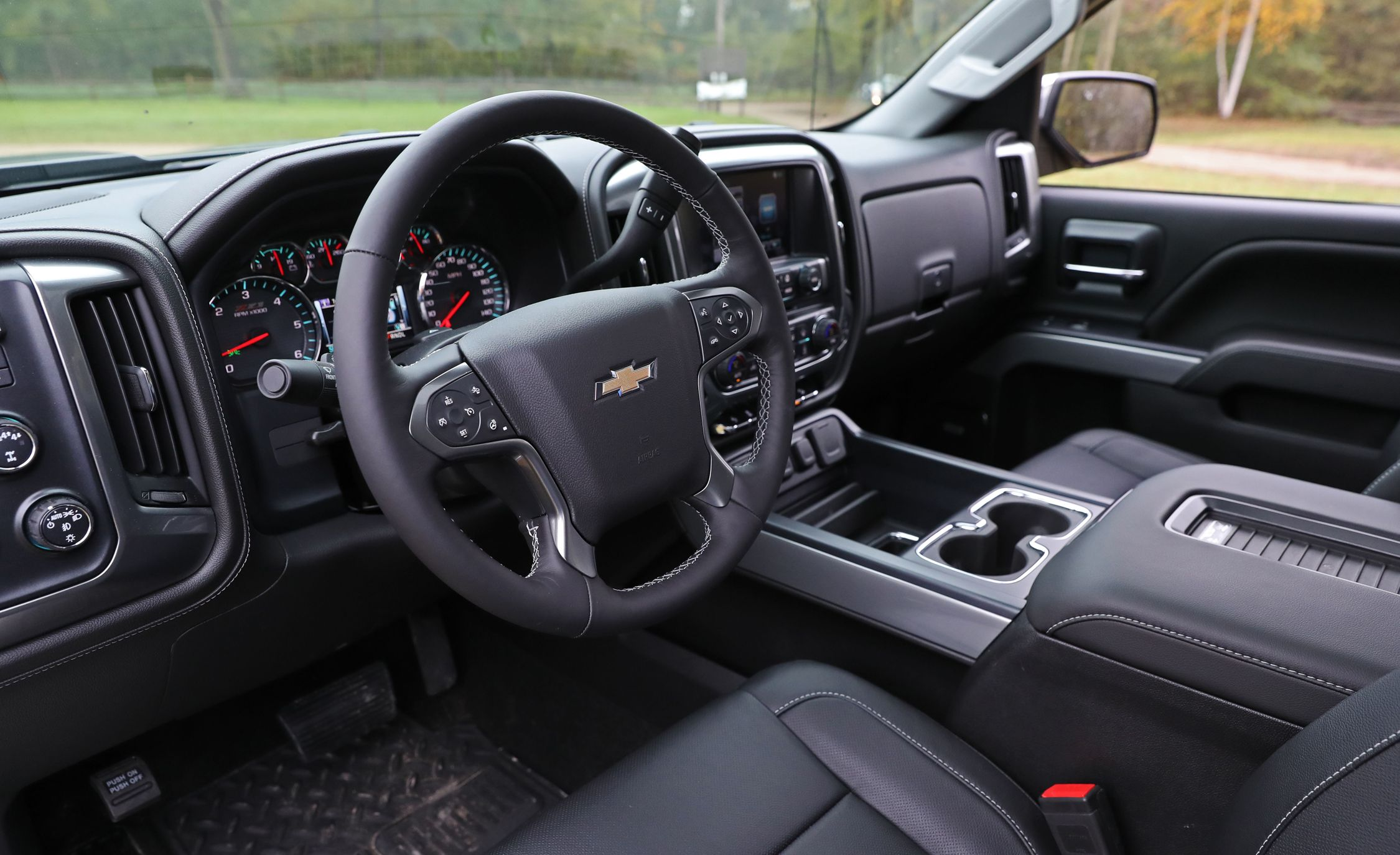 2017 Chevrolet Silverado Interior Review Car And Driver