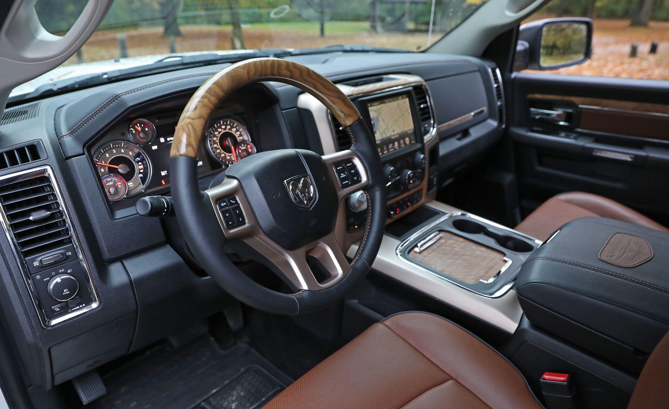 2017 Ram 1500 Interior Review Car And Driver