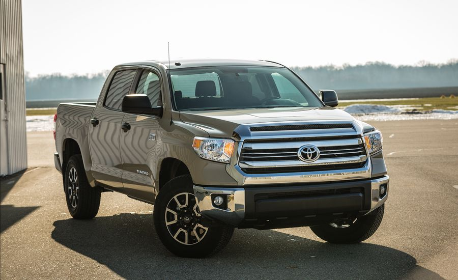 2017 toyota tundra exterior review car and driver. Black Bedroom Furniture Sets. Home Design Ideas