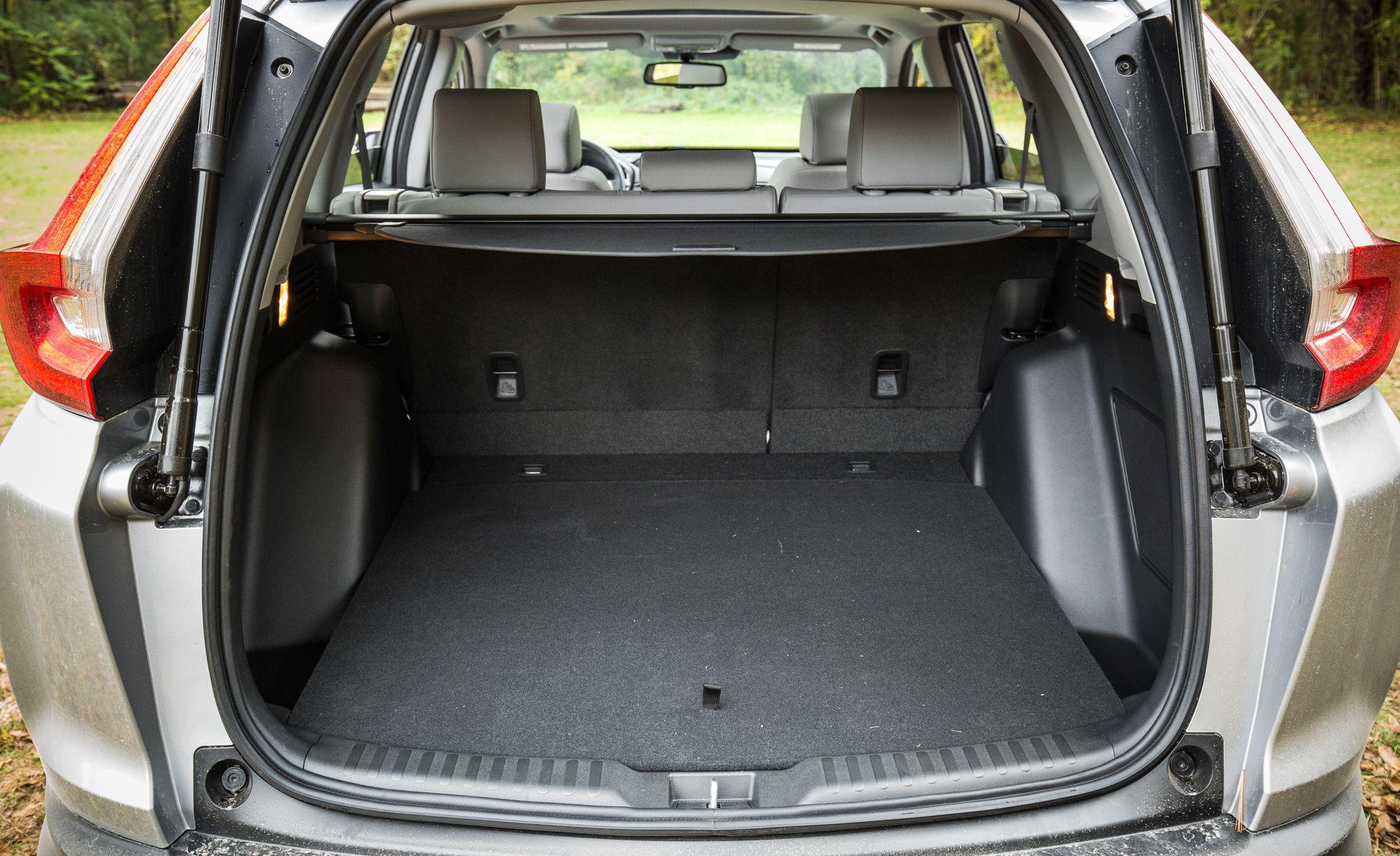 2017 honda cr v cargo space and storage review car and for Honda accord cargo space