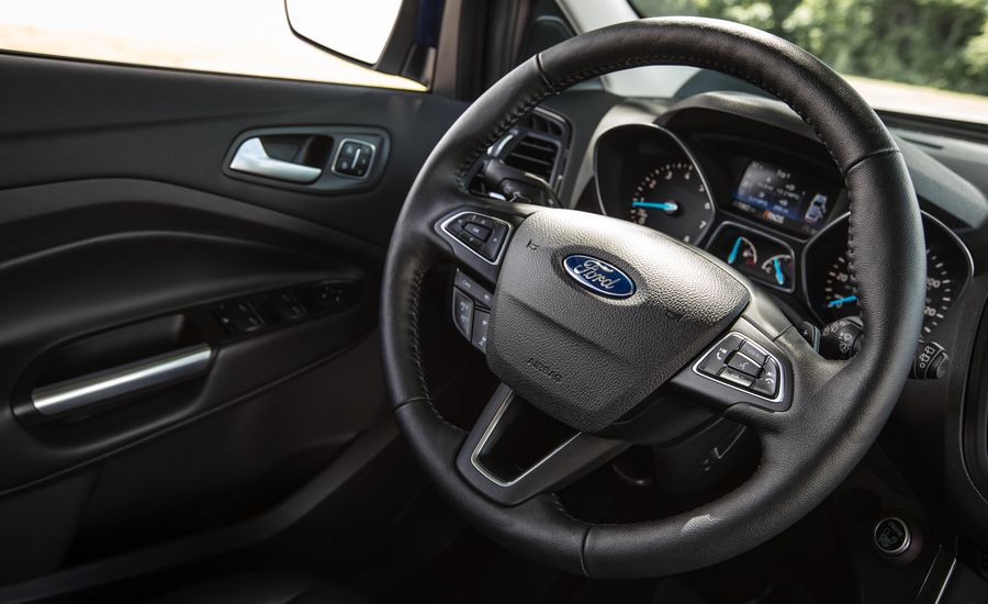 2017 ford escape safety and driver assistance review car and driver. Black Bedroom Furniture Sets. Home Design Ideas